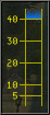 range bar screenshot showing target at more than 40 yards
